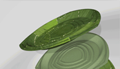 3d Printing Used in Leaf One-way Plate Prototyping